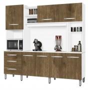 Armario de Cozinha Holanda 2.2 Branco com Ferrara - CSA Moveis