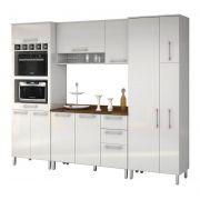 Armário de Cozinha Ravena 2.6 Branco - Vitamov