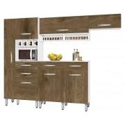 Armário de Cozinha Tóquio 2.7 Paneleiro Duplo Branco com Ferrara - CSA Móveis