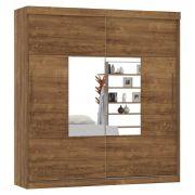 Guarda-Roupa Ipanema com Espelho Canela - Mirarack