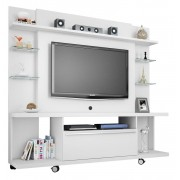Home Theater New Torino Branco - Moveis Bechara