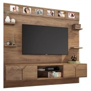 Painel para TV Imperial Avelã - Lukaliam Moveis