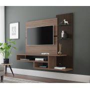 Painel para TV Quarto Vega Castanho com Terrarum - MóveisAqui