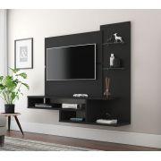Painel para TV Quarto Vega Preto