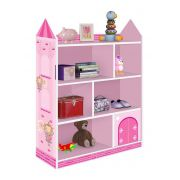 Prateleira Infantil Castelo Rosa - JeA Móveis