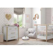 Quarto de Bebê Branco Soft Liv - Matic Móveis