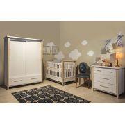 Quarto de Bebê Completo Branco Soft Liv - Matic Móveis