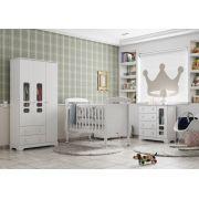 Quarto de Bebê Completo Branco Soft Smart - Matic Móveis