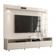 Rack com Painel Aspen 2.2 Off White - MoveisAqui