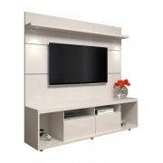 Rack com Painel Arizona 1.8 Off White - MoveisAqui