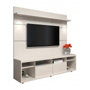 Rack com Painel Arizona 1.8 1P Off White - MoveisAqui