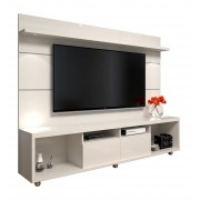 Rack com Painel Arizona 2.2 Off White - MoveisAqui
