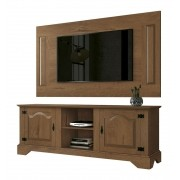 Rack com Painel Imperio Naturale - Edn Moveis