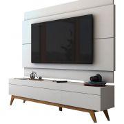 Rack com Painel Para TV 55 Polegadas Branco Classic 3G 1.8 - Imcal Móveis