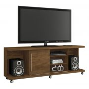 Rack para Tv Grafite Gold Wood - Germai Moveis