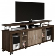 Rack para TV Mega New Castanho com Noce - Imcal