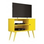 Rack para TV Reale Amarelo - Edn Móveis