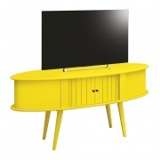 Rack Retro 1.3 Jazz Amarelo - Edn Moveis
