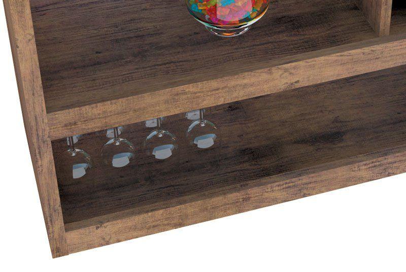 Aparador Bar Adega JB 4050 Luxo Canela - JB Bechara