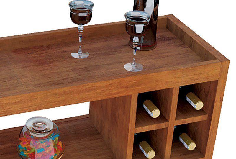 Aparador Bar Adega JB 4050 Luxo Caramelo - JB Bechara