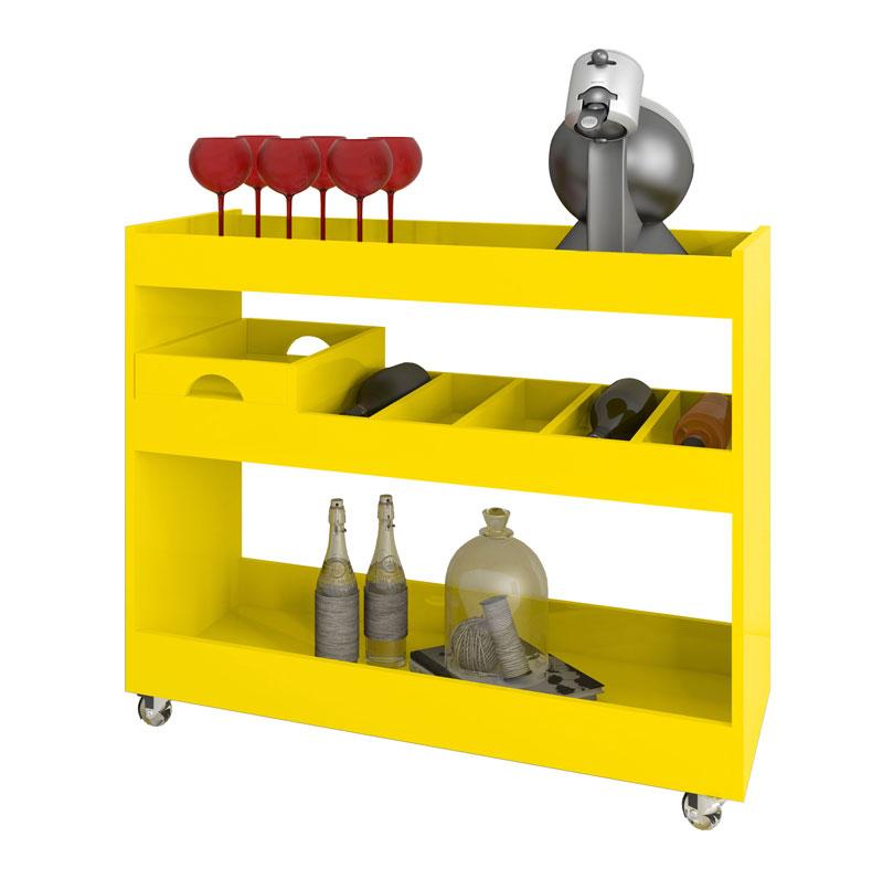 Aparador Bar JB 4030 Amarelo - JB Bechara