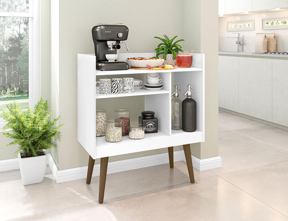 Aparador Buffet Café Branco - Móveis Bechara
