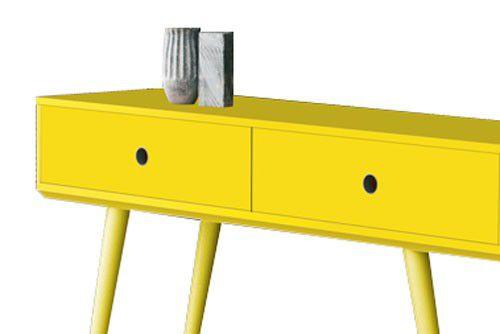Aparador Cordoba Amarelo - Edn Móveis