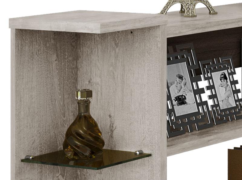Aparador Flora II Vanilla Rústico - Móveis Bechara