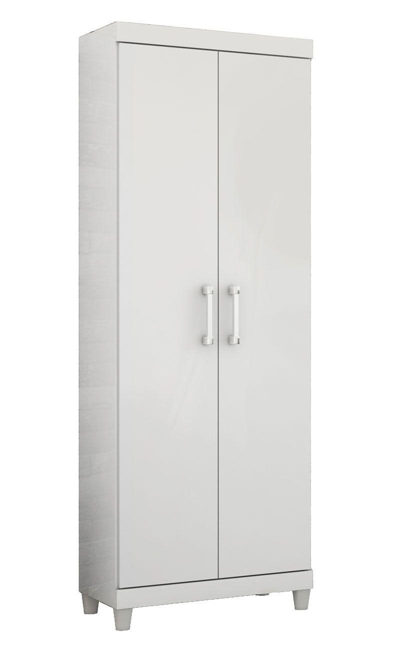 Armário Multiuso Atlanta Branco - EJ Móveis