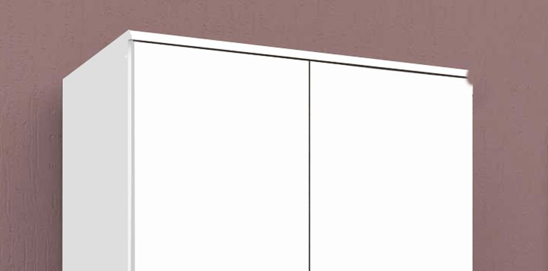 Armario Multiuso Cordoba Branco - Moveis Primus