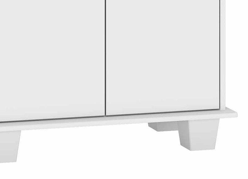 Armário Multiuso Mexico Branco - RV Móveis  - MoveisAqui - Loja de móveis online!