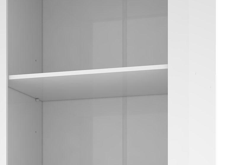 Armario Multiuso Munique Branco - Mirarack