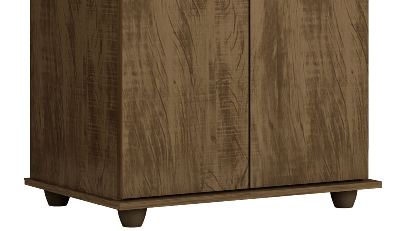 Armario Multiuso Onix Gold Wood - Germai Moveis
