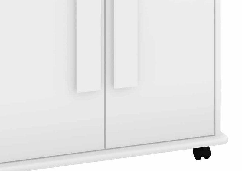 Armário Multiuso Toronto Branco - RV Móveis  - MoveisAqui - Loja de móveis online!