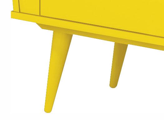 Bar para Sala Cassino Amarelo - Edn Moveis