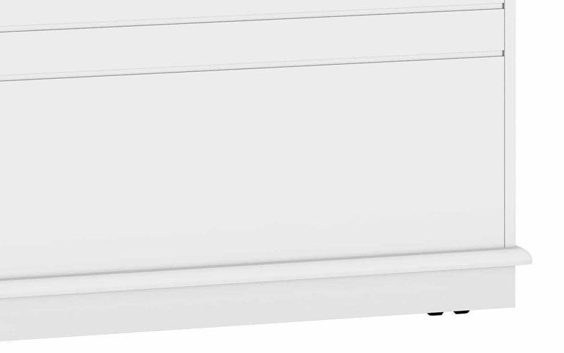 Bau Gênova com Capitone Branco - RV Móveis