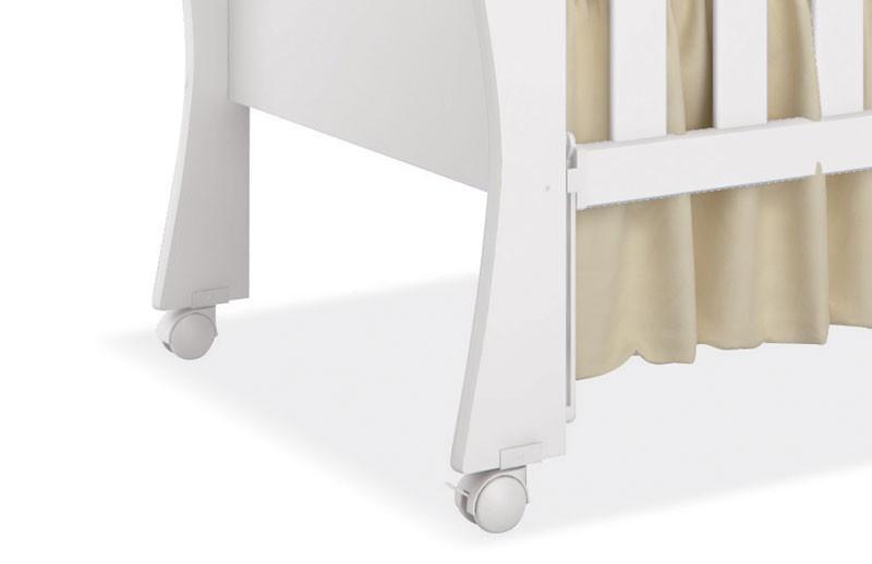 Berco Baby Branco Brilho - Imaza Moveis  - MoveisAqui - Loja de móveis online!