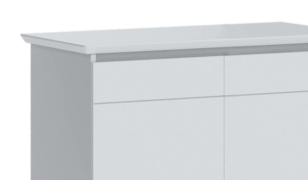 Buffet Classic 2 Portas Branco Acetinado - Imcal Móveis