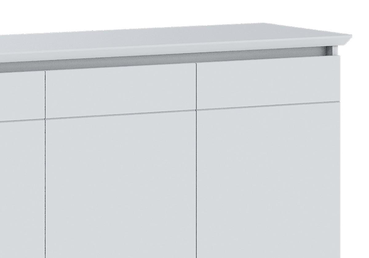 Buffet Classic 3 Portas Branco Acetinado - Imcal Móveis