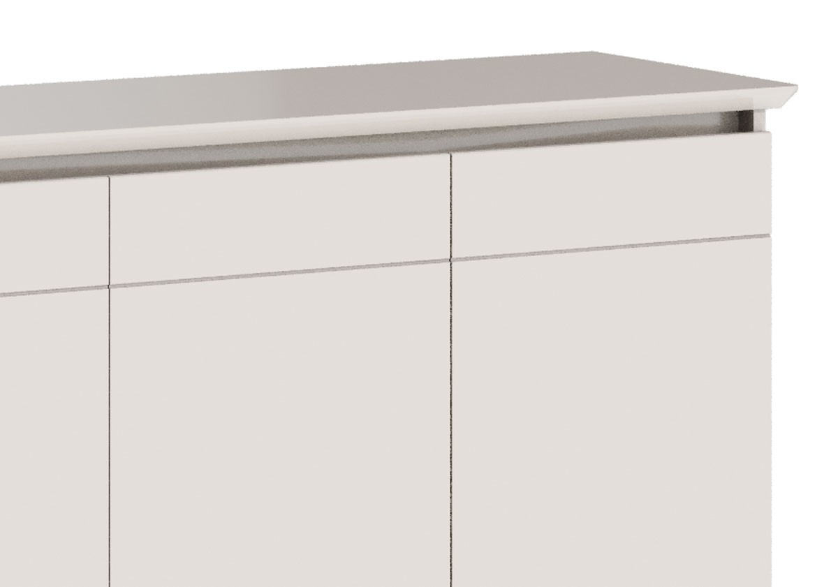 Buffet Classic 3 Portas Off White - Imcal Móveis