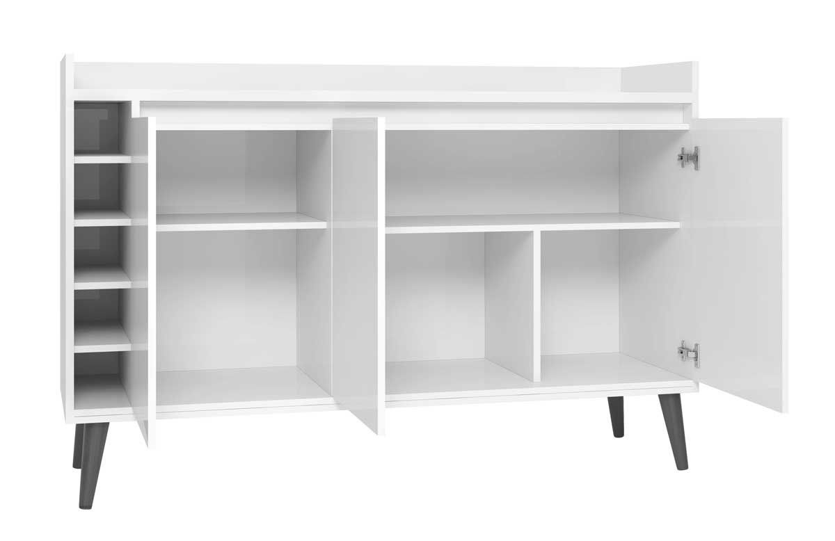 Buffet com Adega Estilo Off White - MoveisAqui