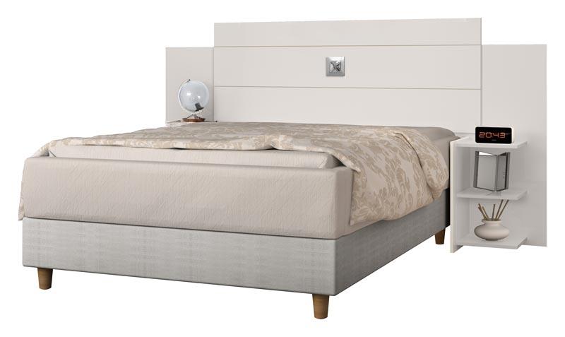 Cabeceira Box Queen Size Acapulco Off White - JeA Móveis