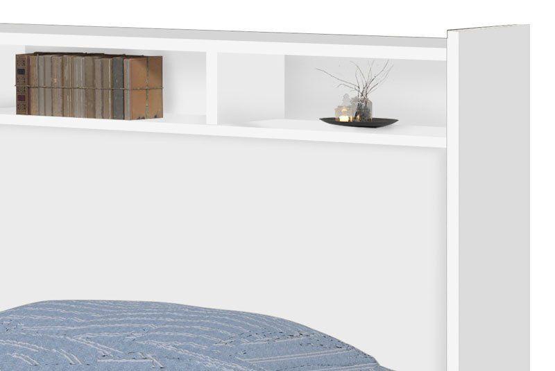 Cabeceira Casal 1,40 Melissa Branco - Cambel Móveis