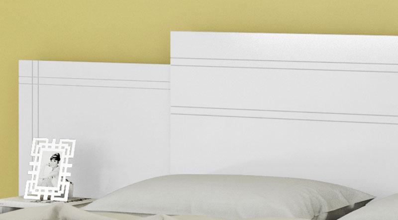 Cabeceira Extensível com Criado-Mudo Vitória Branco - Móveis Bechara  - MoveisAqui - Loja de móveis online!