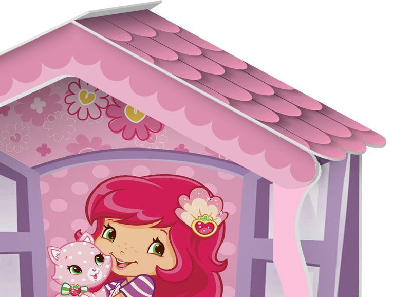 37cb1a67d6 Cama Casa Solteiro Moranguinho - J A Móveis - MoveisAqui - Loja de móveis  online!