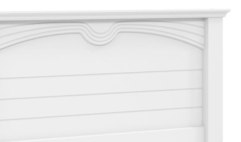 Cama de Casal 1,4 Nobre Branco - Fênix