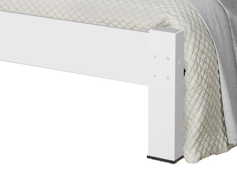 Cama de Casal Atenas Branco - Tebarrot Móveis