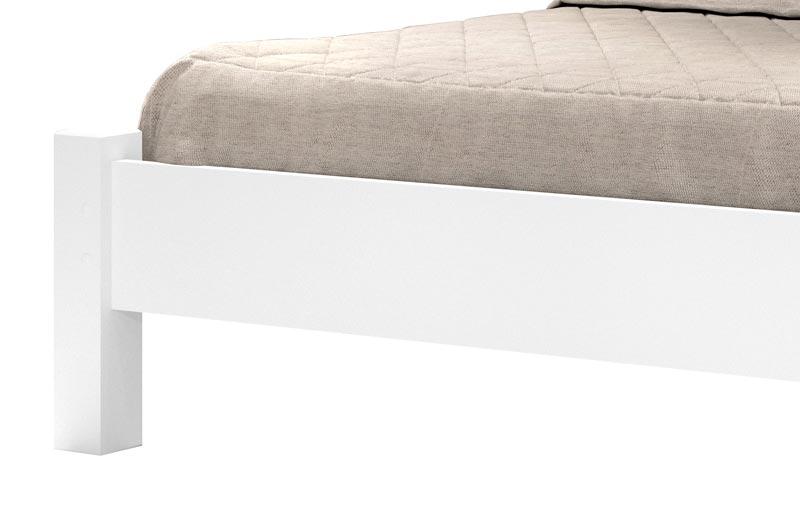 Cama de Casal Lion Branco - JeA Móveis