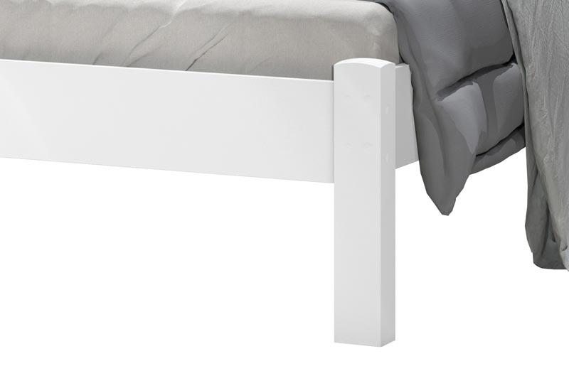 Cama de Casal Raissa Branco - JeA Móveis