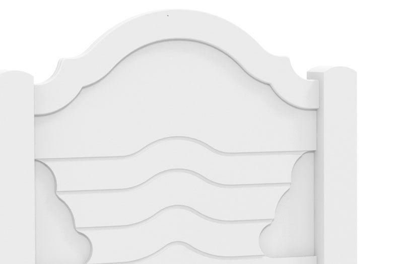 Cama de Solteiro Master com Auxiliar Branco - Fênix